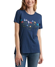 Graphic Crew-Neck T-Shirt
