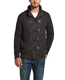 Men's Toggle Waffle Stitch Swacket
