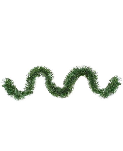 """Northlight 50' x 4.75"""" Two-Tone Pine Artificial Christmas Garland - Unlit"""