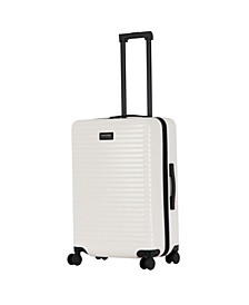 "Triforce Milan 26"" Spinner Satin Finish Leather Trim Luggage"