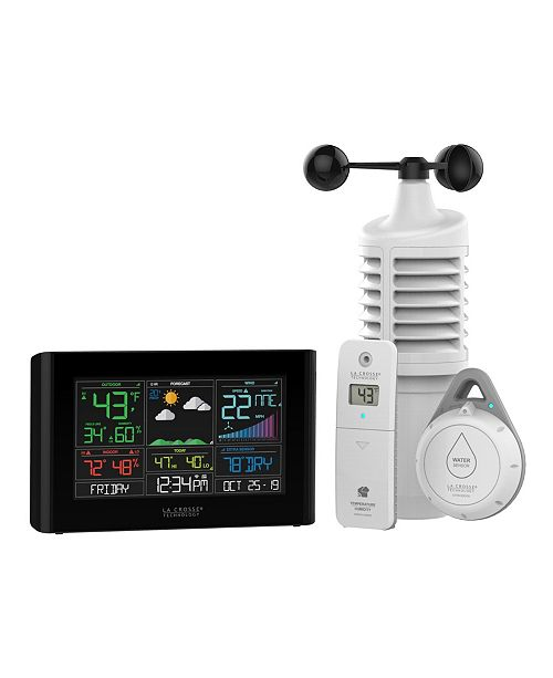 La Crosse Technology S82950 Wi-Fi Professional Weather Station with Accu weather Forecast