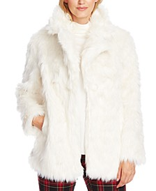 Shaggy Faux-Fur Coat