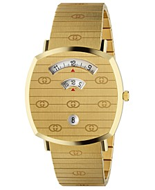 Swiss Grip Gold-Tone PVD Stainless Steel Bracelet Watch 38mm