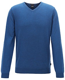 BOSS Men's Baram V-Neck Sweater