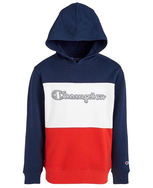 Champion Toddler Boys Colorblocked Logo-Print Hoodie