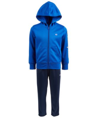 Little Boys 2-Pc. Zip-Up Hoodie & Pants Set