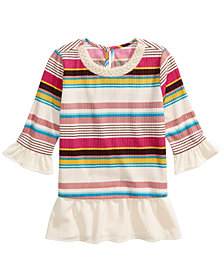 Monteau Big Girls Embellished Layered-Look Top