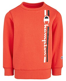 Big Boys Logo-Print Crewneck Sweatshirt