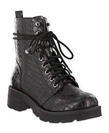 Indigo-G Combat Boots