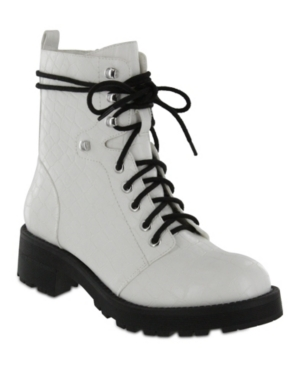 UPC 742282532595 product image for Mia Indigo-g Combat Boots Women's Shoes | upcitemdb.com