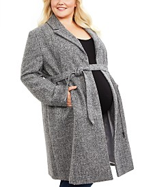 Motherhood Maternity Plus Size Coat