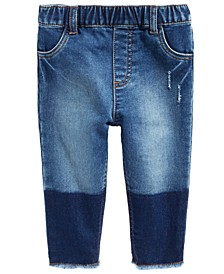 Baby Girls Two-Tone Jeans, Created For Macy's