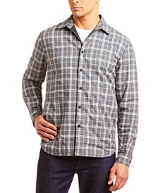 Men's Soft Flannel Plaid Shirt