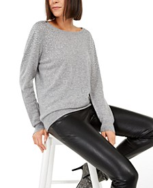INC Cashmere Rhinestone Sweater, Created For Macy's