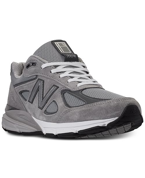 new product 70ed6 fbefd New Balance Men's 990v4 Running Sneakers from Finish Line ...