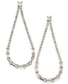 INC Crystal Open Drop Earrings, Created For Macy's