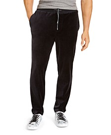 Men's Velour Pants, Created For Macy's