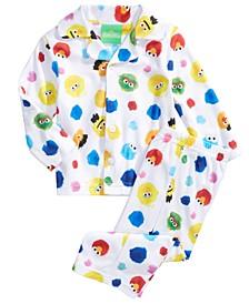 Baby Boys & Girls 2-Pc. Sesame Street Pajama Set