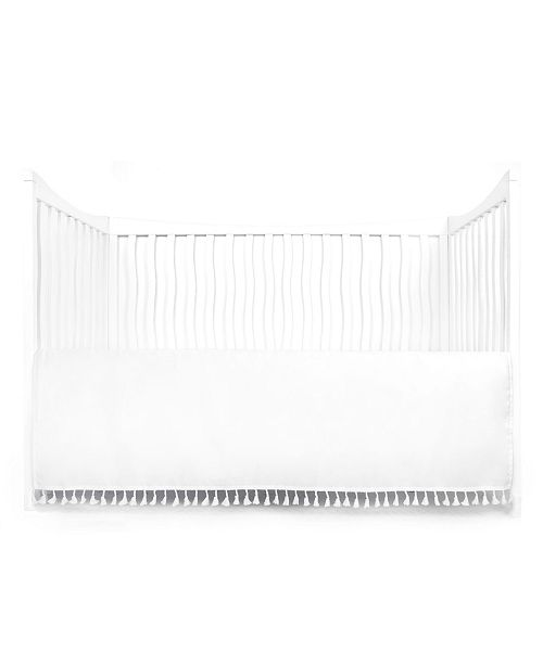 Tadpoles Gathered Crib Skirt With Tassels