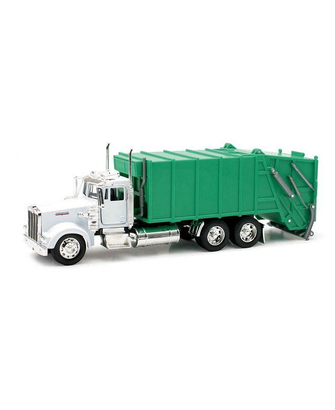 New Ray Die Cast 1:32 Kenworth W900 Garbage Truck
