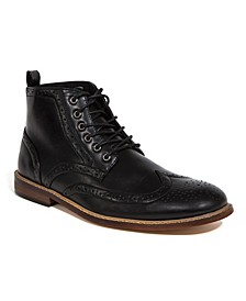 Men's Jerard Memory Foam Lightweight Dress Comfort Classic Wingtip Boot