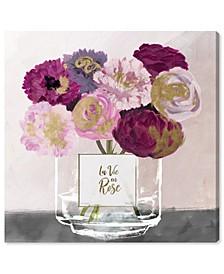 La Vie En Rose Canvas Collection