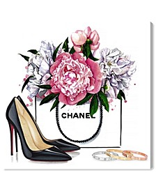 Doll Memories - Shoes and Flowers Canvas Art Collection