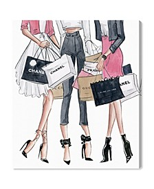 Shopping Date Canvas Art Collection