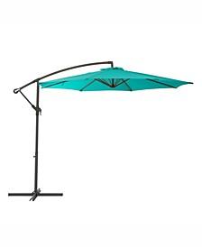 Distribution UV Resistant Offset Patio Umbrella