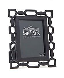 "Pierced Black Iron Frame - 5""x 7"""