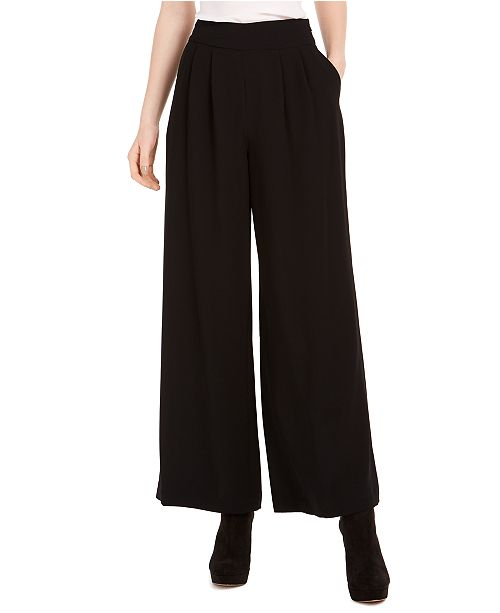 1.STATE High-Rise Wide-Leg Pants