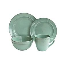 Olivia Seafoam 16Pc Dinnerware Set