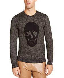 INC Men's Skull Sweater, Created for Macy's