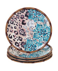 Exotic Jungle 4-Pc. Dinner Plates