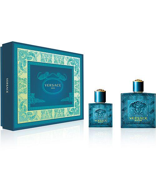Versace Men's 2-Pc. Eros Eau de Toilette Gift Set