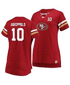 Majestic Women's Jimmy Garoppolo San Francisco 49ers Draft Him T-Shirt 2019