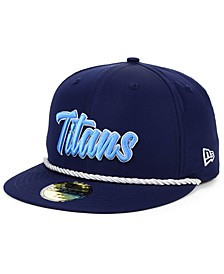 Boys' Tennessee Titans On-Field Sideline Home 59FIFTY-FITTED Cap