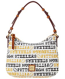 Pittsburgh Steelers Doodle Small Kiley Hobo