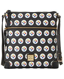 Pittsburgh Steelers Saffiano Large Crossbody