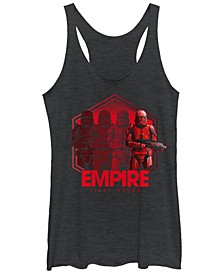 Women's Rise of Skywalker Empire Troopers Racerback Tank Top