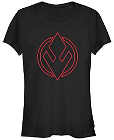Women's Rise of Skywalker Sith Trooper Logo T-Shirt