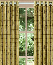 Home Fashions Tortoise Shell Bamboo Grommet Top Panel