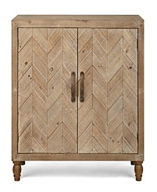 Wooden Cabinet with Two Doors