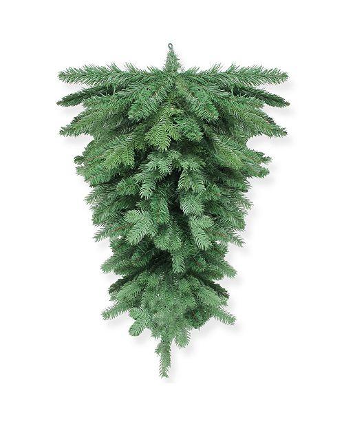 "Northlight 32"" Mixed Pine Artificial Christmas Teardrop Swag - Unlit"