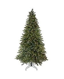 9' Pre-Lit Savannah Spruce Artificial Christmas Tree - Clear Lights