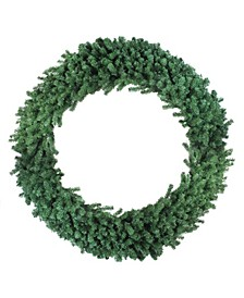 Deluxe Windsor Pine Artificial Christmas Wreath - 60-inch Unlit