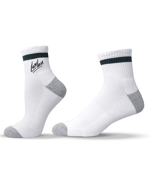 UNISOX Unisex Fun Rebel Lawless Quarter Socks