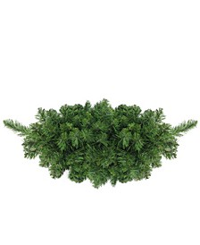 "32"" Lush Mixed Pine Artificial Christmas Swag - Unlit"