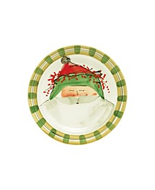 Old St. Nick Green Salad Plate