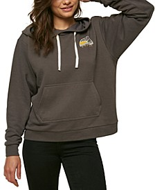 Juniors' Beach Way Graphic-Print Hoodie